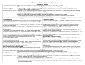 ccss literacy guide