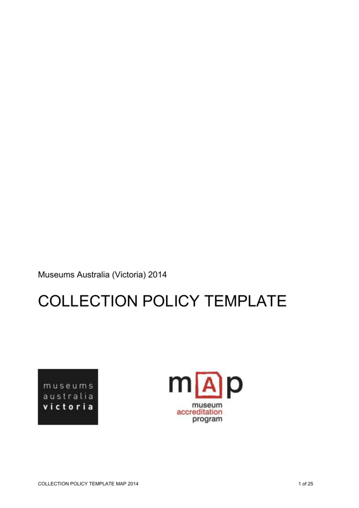 MAP Collection Policy Template
