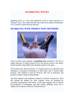 sparkling wine production methods