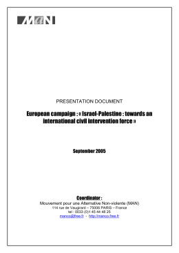 presentation document