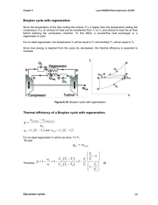 Second law analysis of Rankine cycle
