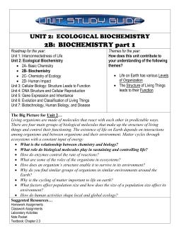 Organic Molecules Worksheet: Review