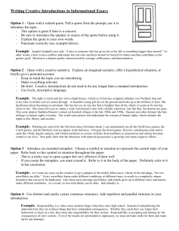 shakespeare stealer final essay doc writing creative introductions in informational essays