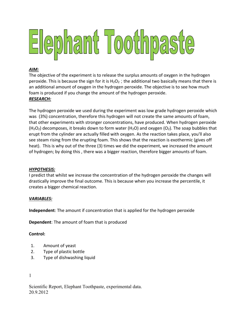 questionnaire for toothpaste What are the main ingredients of a toothpaste why is the structure of toothpaste important question sheet: putting the squeeze on toothpaste   science news for students.