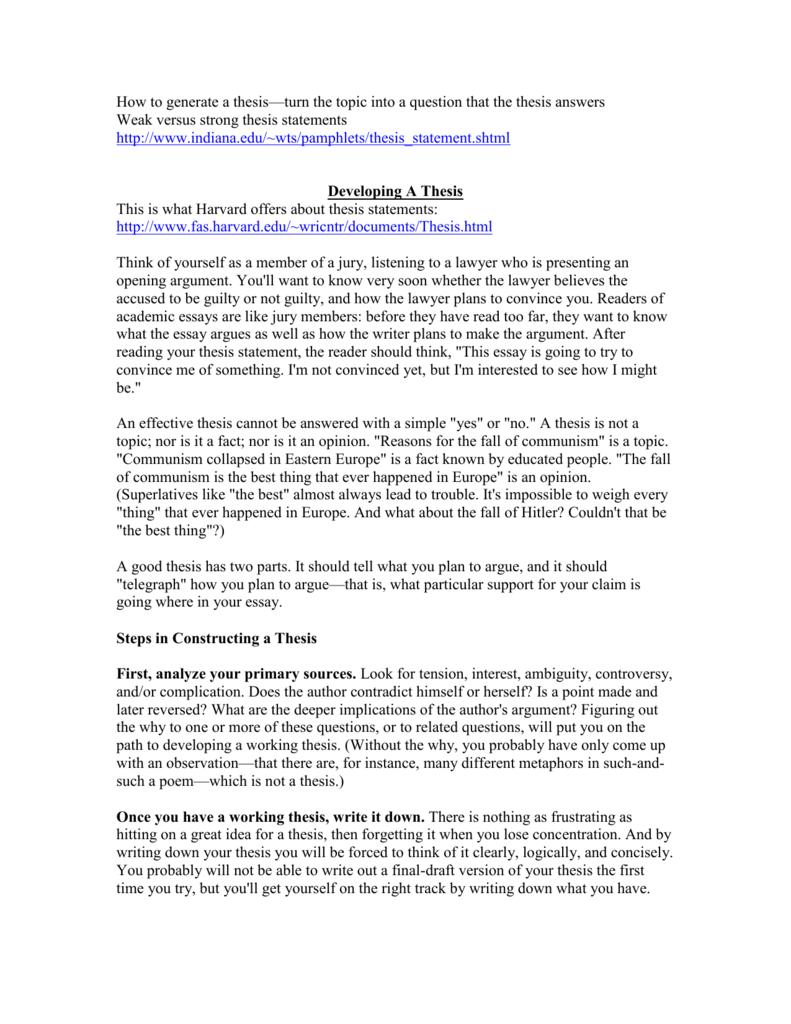 lolita thesis statement