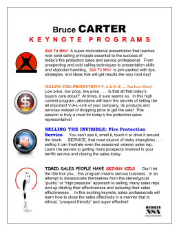 Bruce CARTER - Fire Pros, LLC
