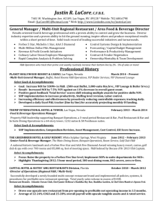 Justin LuCore 2010 Resume (MSWord 97-2003