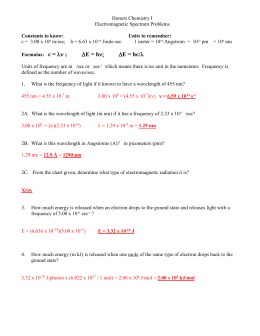Worksheets Periodic Trends Answers graphing periodic trends light energy answer key