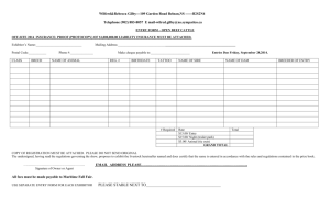 Open Beef Cattle Entry Form