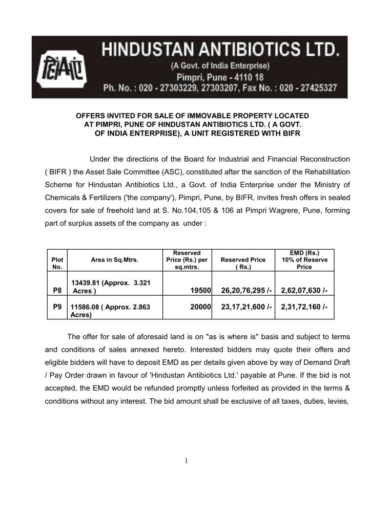 Hindustan Antibiotics Ltd, Pune | Company & Contact Details | people.antibioticsonlinehelp.com