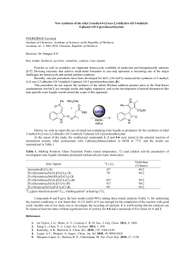 New synthesis of the ethyl 2-methyl-4