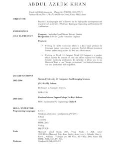 Topics - Faculty Web Hosting