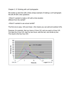Chapter 2 Hydrographs 3