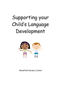 Supporting your child to learn English as an additional language