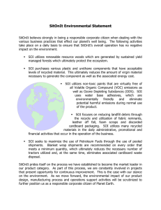 SOI Environmental Statement - Schneider League Associates