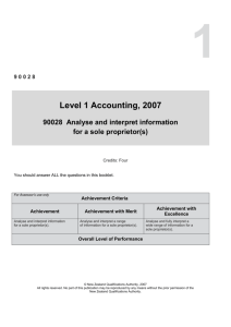 L1 Accounting (90028) 2007