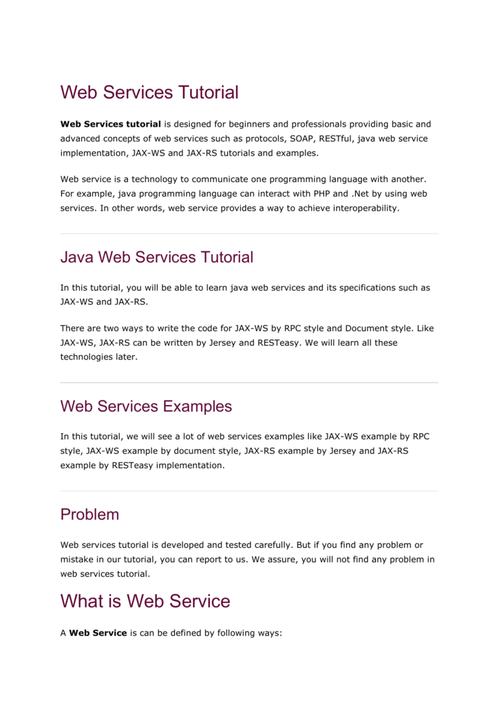SOAP Web Services - By ProfMariaMichael