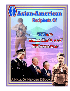 Asian-American Medal of Honor Recipients