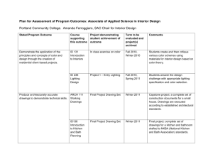 Plan for Assessment of Program Outcomes: Associate of Applied