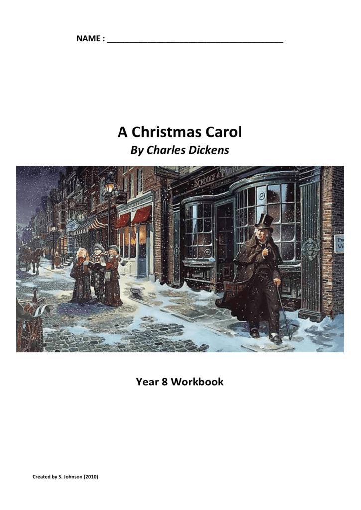 A Christmas Carol Crossword