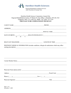 adult seating clinic referral form