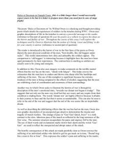 Description of an essay outline
