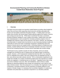 Coastal Dune Grant Program (Word Doc, 447 kb)