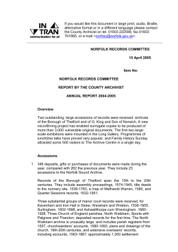 Annual Report 2004-2005 - Committees