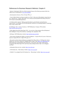 References for Business Research Methods: Chapter 8