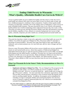 Health Care and Child Poverty Brief