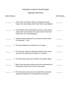 Sample Anticipation Guide for Social Studies