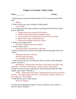 Chapter 12 The Crusades And Culture