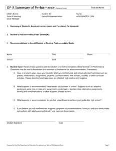 Form OP-8 - Ohio Department of Education