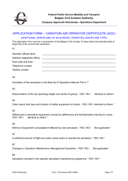 application form – variation air operator certificate (aoc)