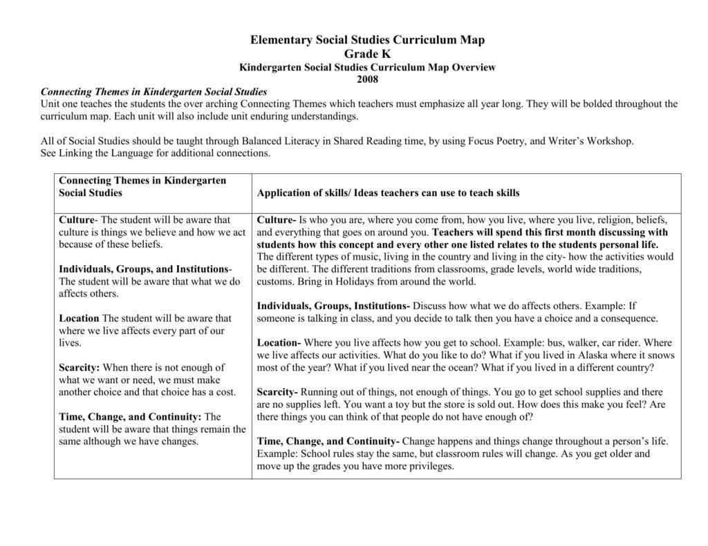Kindergarten Social Stus Curriculum Map Overview on kindergarten reading assignments, kindergarten reading art, kindergarten reading goals, kindergarten reading schedule, kindergarten reading lesson plans, esl curriculum map, kindergarten reading vocabulary, education curriculum map, kindergarten reading projects, kindergarten games map, kindergarten sequencing map,