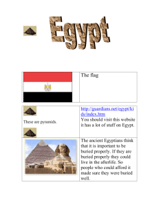 Egypt by Emily