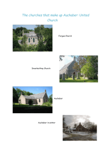 Gallery - Auchaber and Auchterless Parish Churches