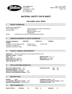 MSDS - Good Earth Horticulture Inc.