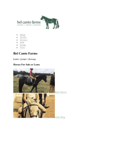 Bel Canto Farms at Stone Mountain Liability Release