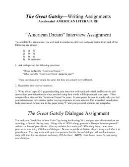 gatsby essay topics the great gatsby writing assignments