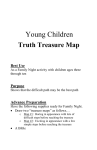 Kids Truth Treasure Map