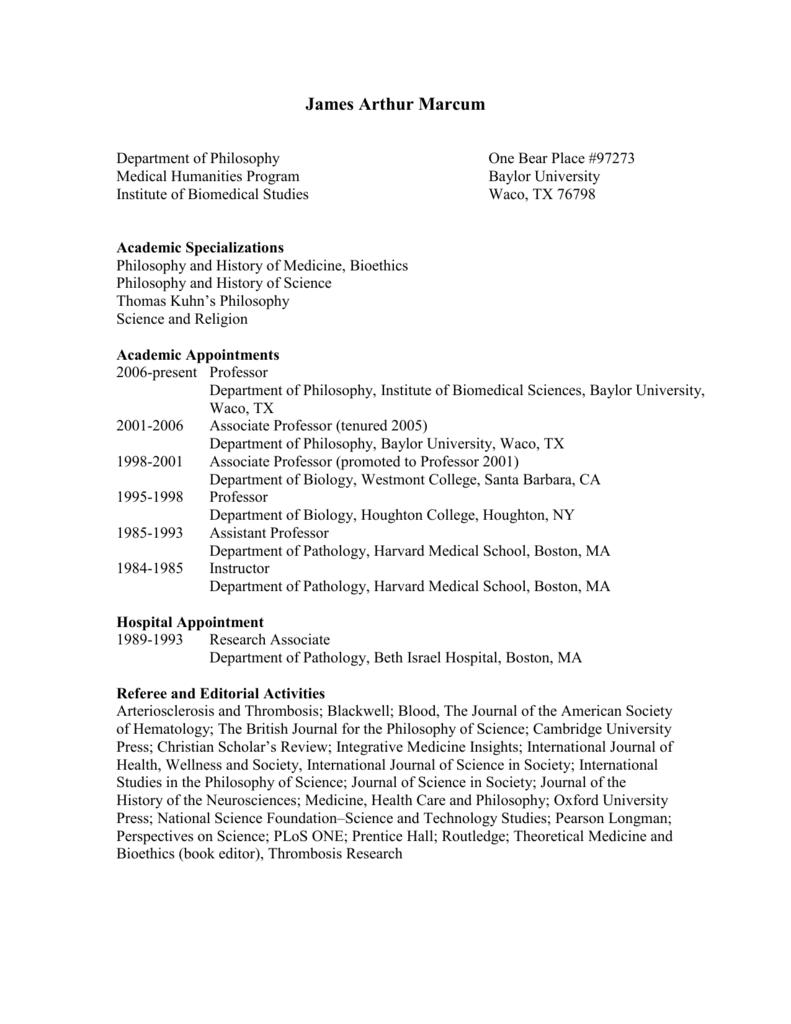 Academic Service - Baylor University
