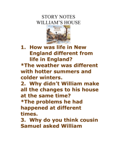 William`s house