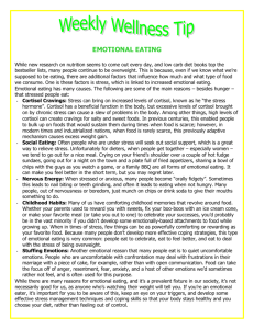 Emotional Eating - Intranet Home