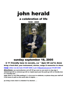 John Herald Website