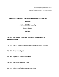 Revised agenda posted 10/11/2012