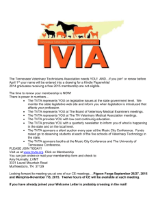 The Tennessee Veterinary Technicians Association needs YOU