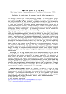 POST-DOCTORAL POSITION