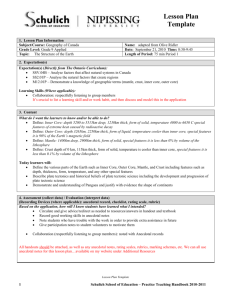 Lesson Plan Template 1. Lesson Plan Information Subject/Course