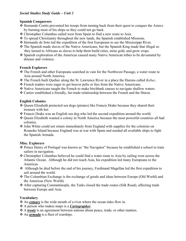 Unit 2 Study Guide Catholic Community